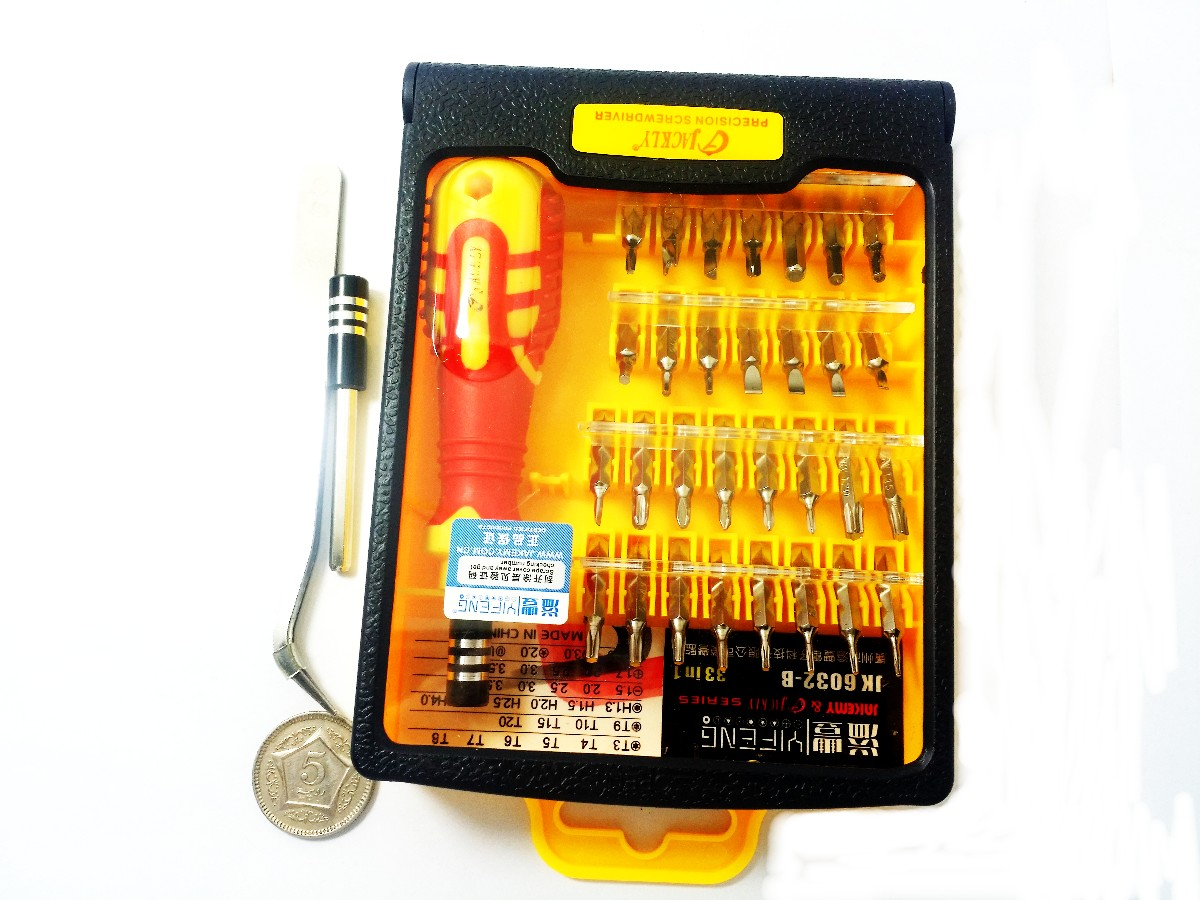 32 in 1 Screw driver set Laptop computers and mobi